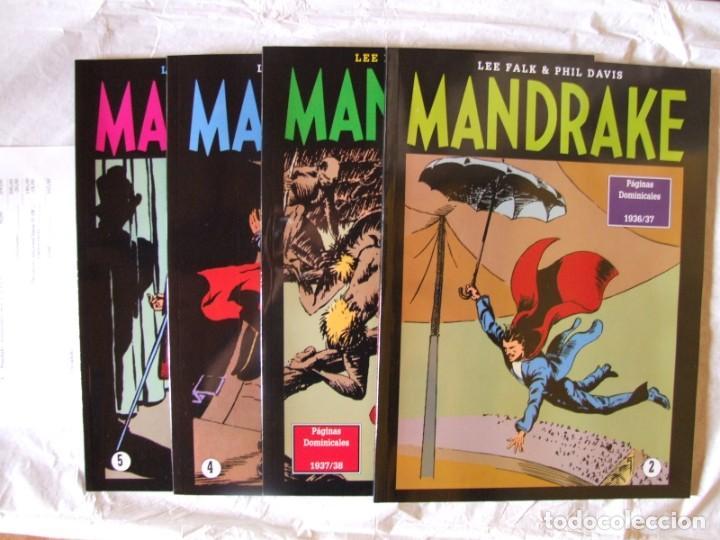 4 TOMOS DE MANDRAKE (Tebeos y Comics - Magerit - Mandrake)