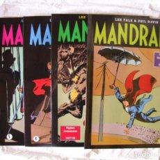 Cómics: 4 TOMOS DE MANDRAKE. Lote 198582318