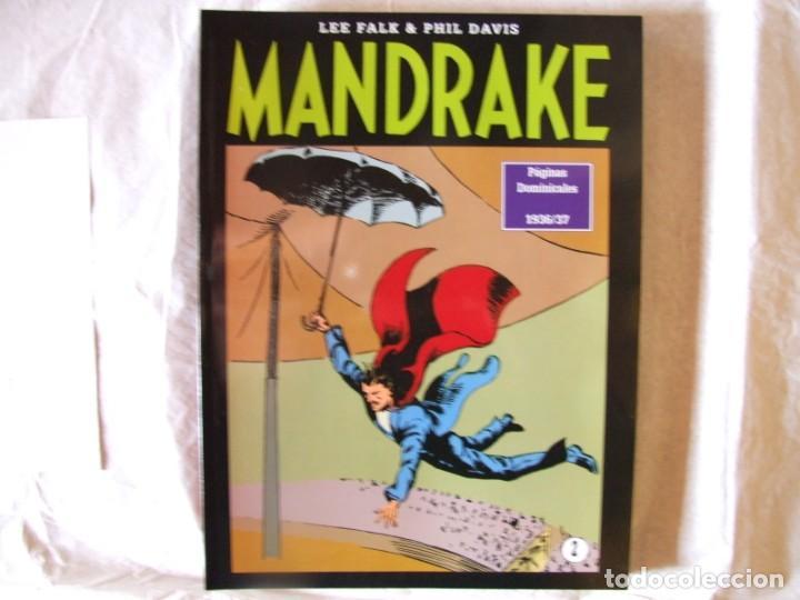 Cómics: 4 Tomos de Mandrake - Foto 2 - 198582318
