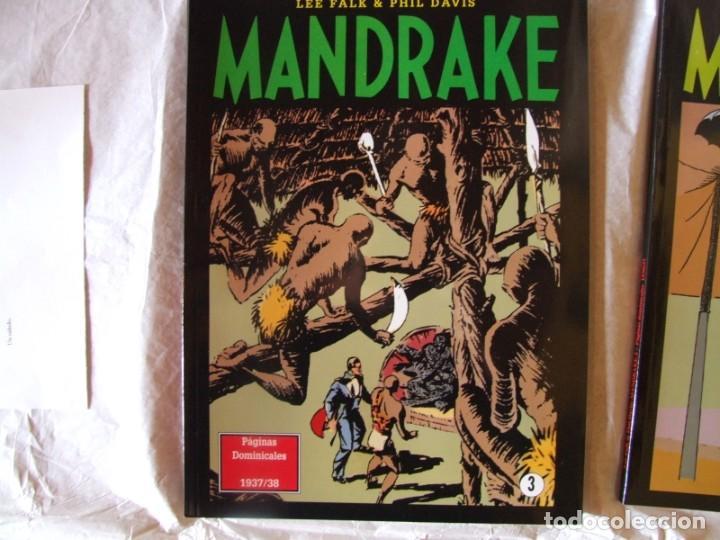 Cómics: 4 Tomos de Mandrake - Foto 3 - 198582318