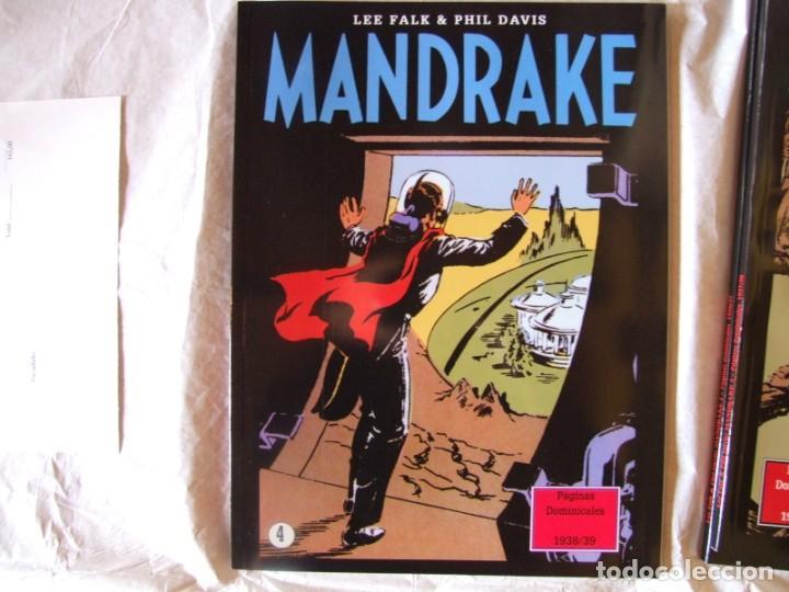 Cómics: 4 Tomos de Mandrake - Foto 4 - 198582318
