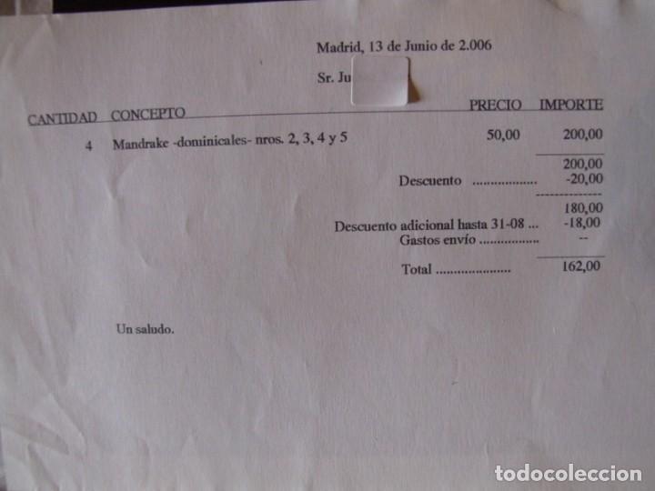 Cómics: 4 Tomos de Mandrake - Foto 9 - 198582318