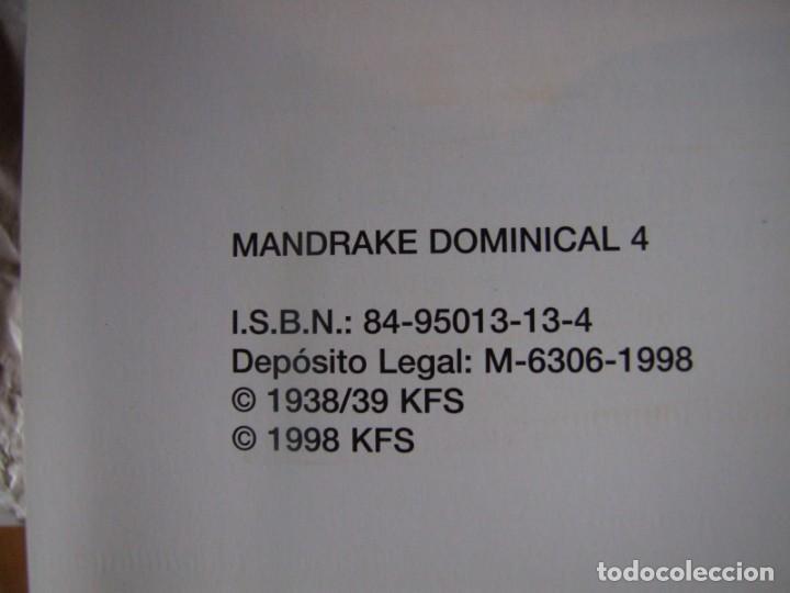 Cómics: 4 Tomos de Mandrake - Foto 10 - 198582318