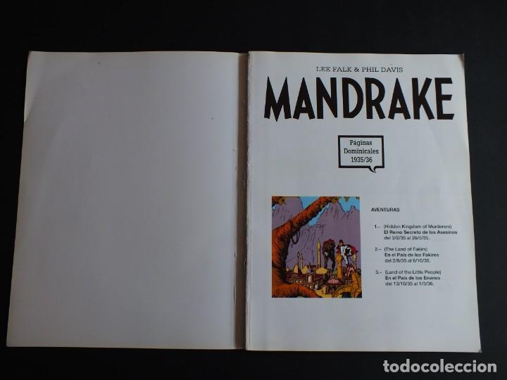 Cómics: MANDRAKE LEE FALK - PHIL DAVIS PAGINAS DOMINICALES 1935/36 Nº 1 MAGERIT - Foto 2 - 198791368