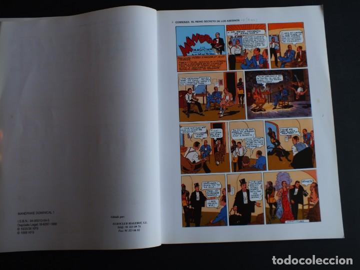 Cómics: MANDRAKE LEE FALK - PHIL DAVIS PAGINAS DOMINICALES 1935/36 Nº 1 MAGERIT - Foto 3 - 198791368