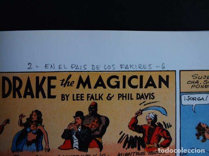 Cómics: MANDRAKE LEE FALK - PHIL DAVIS PAGINAS DOMINICALES 1935/36 Nº 1 MAGERIT - Foto 5 - 198791368