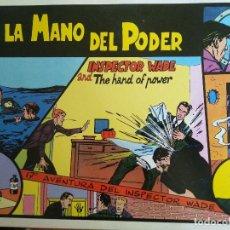 Comics : INSPECTOR WADE NÚMERO 17 - TIRAS DIARIAS EN BLANCO Y NEGRO - EUROCLUB MAGERIT 1995-2000. Lote 209707325