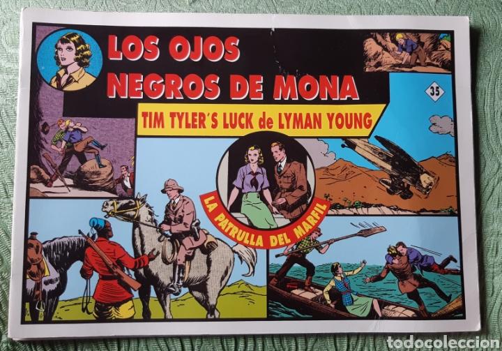 TEBEOS-COMICS GOYO - JORGE Y FERNANDO 35 - LA PATRULLA DEL MARFIL - MAGERIT - AA98 (Tebeos y Comics - Magerit - Jorge y Fernando)
