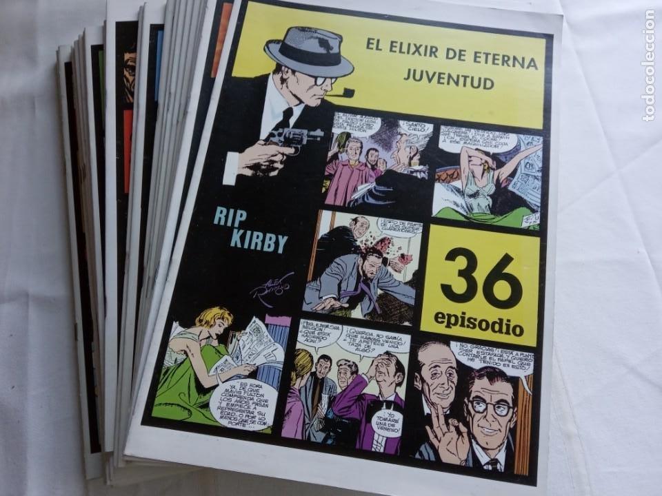 LOTE COLECCIÓN RIP KIRBY. ALEX RAYMOND. EUROCLUB MAGERIT 1996. 24 TÍTULOS.(DEL 13 AL 36 AMBOS INCL.) (Tebeos y Comics - Magerit - Rip Kirby)