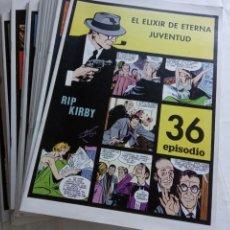 Cómics: LOTE COLECCIÓN RIP KIRBY. ALEX RAYMOND. EUROCLUB MAGERIT 1996. 24 TÍTULOS.(DEL 13 AL 36 AMBOS INCL.). Lote 215186358