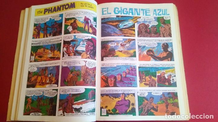 TOMO PHANTOM EL HOMBRE ENMASCARADO - COMIC DEL 1 AL 13 (ENCUADERNADO -TAPAS CASERAS) (Tebeos y Comics - Magerit - Phantom)