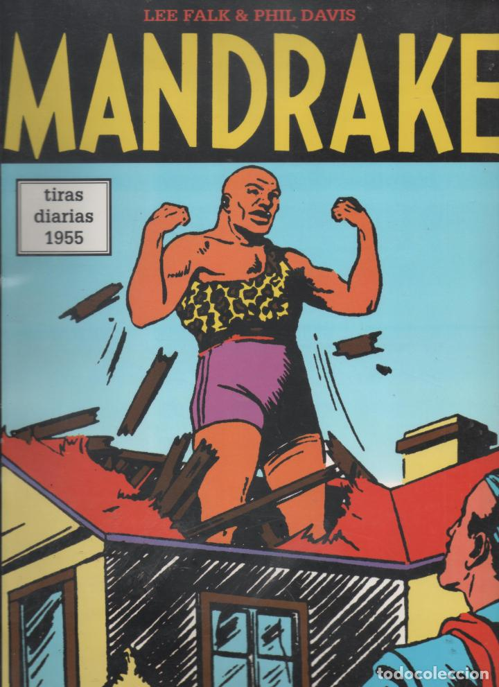 MANDRAKE. TIRAS DIARIAS 1955 Nº 36.LEE FALK & PHIL DAVIS.DA (Tebeos y Comics - Magerit - Mandrake)