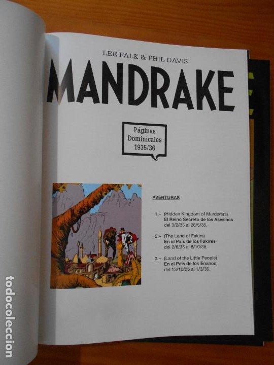 Cómics: MANDRAKE PAGINAS DOMINICALES COMPLETA - 5 TOMOS - LEE FALK & PHIL DAVIS - MAGERIT (CC) - Foto 6 - 176239997