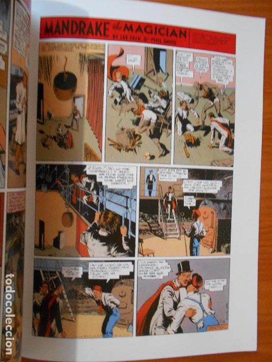 Cómics: MANDRAKE PAGINAS DOMINICALES COMPLETA - 5 TOMOS - LEE FALK & PHIL DAVIS - MAGERIT (CC) - Foto 9 - 176239997