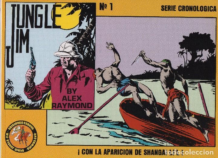 JUNGLE JIM (Tebeos y Comics - Magerit - Jungle Jim)