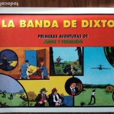 Cómics: PRIMERAS AVENTURAS DE JORGE Y FERNANDO: LA BANDA DE DIXTON. NÚMERO 9. Lote 224038538