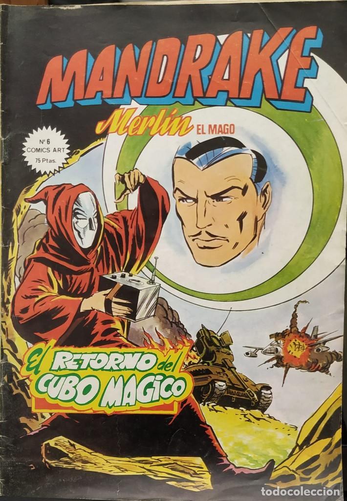 MANDRAKE NÚMEROS 6 Y 14 (Tebeos y Comics - Magerit - Mandrake)