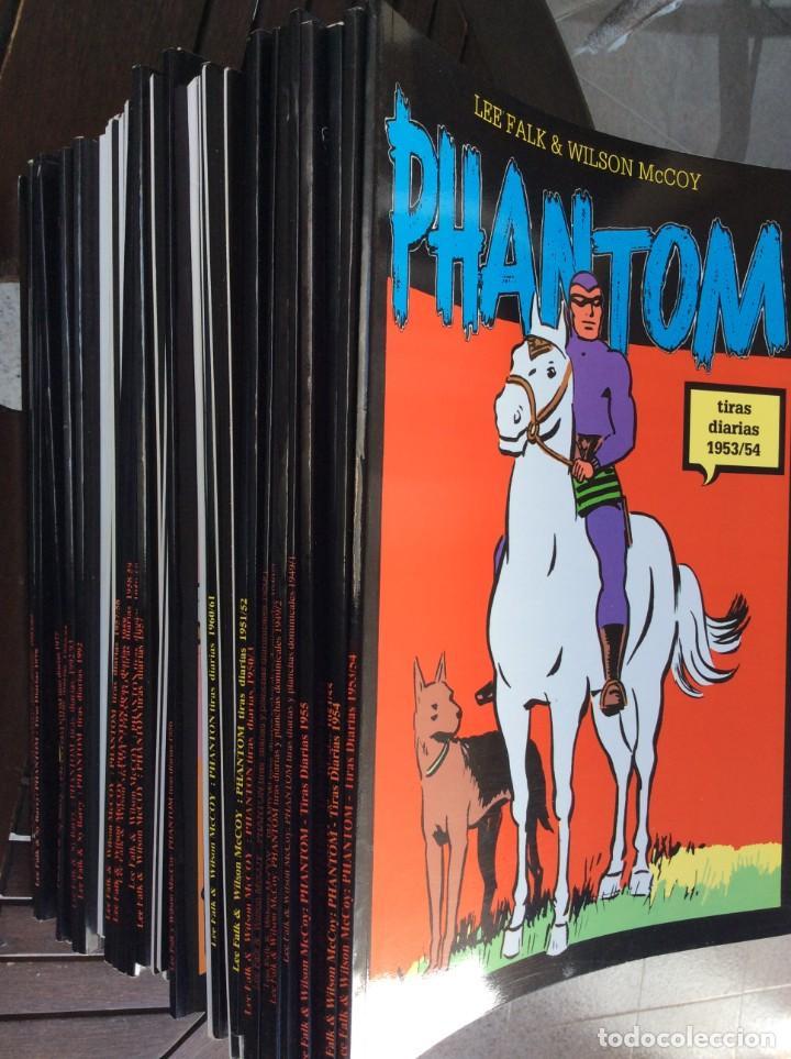 Cómics: El Hombre Enmascarado. The Phantom. Magerit. 47 ejemplares, tiras diarias - Foto 3 - 230955970