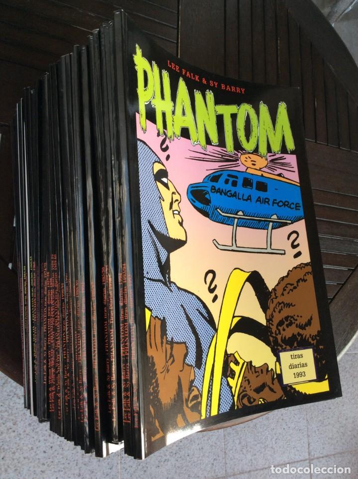 Cómics: El Hombre Enmascarado. The Phantom. Magerit. 47 ejemplares, tiras diarias - Foto 4 - 230955970