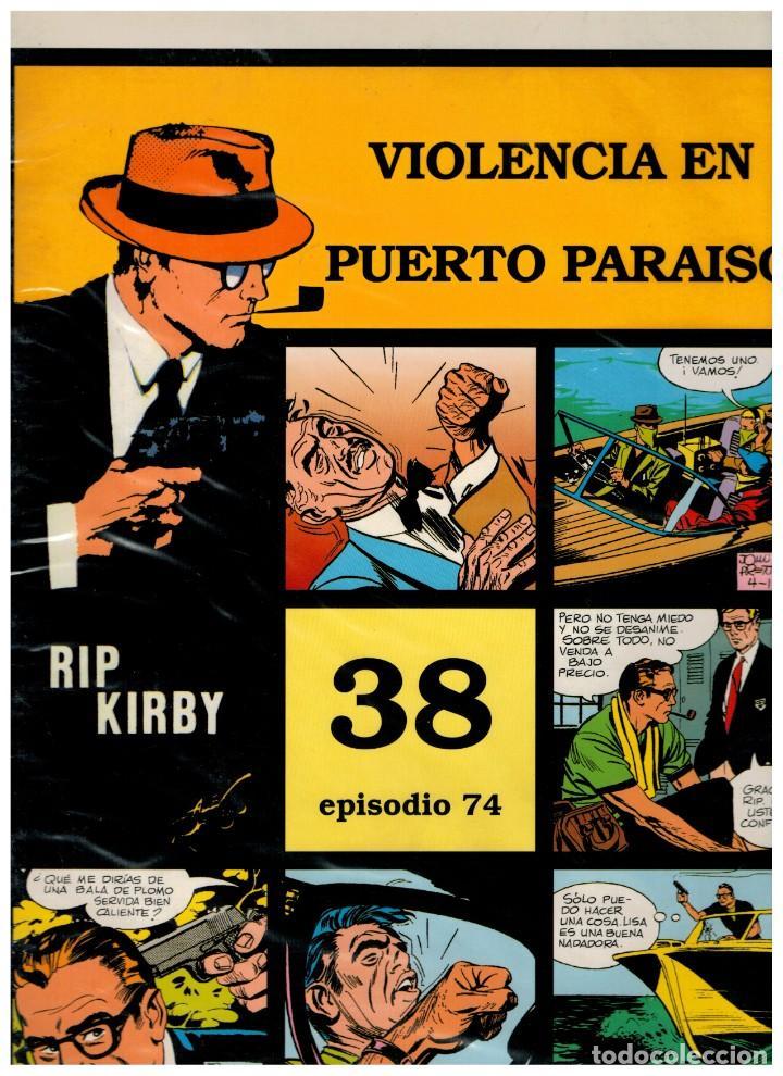RIP KIRBY. EPISODIO 74 - EUROCLUB MAGERIT - NUEVO. ENFUNDADO. (Tebeos y Comics - Magerit - Rip Kirby)