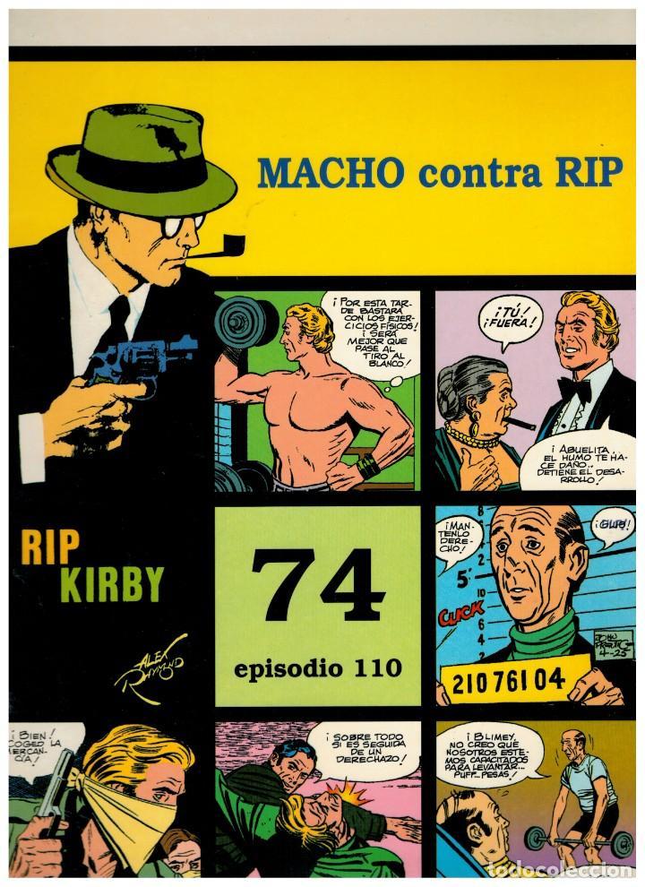 RIP KIRBY. EPISODIO 110 - EUROCLUB MAGERIT - NUEVO. ENFUNDADO. (Tebeos y Comics - Magerit - Rip Kirby)