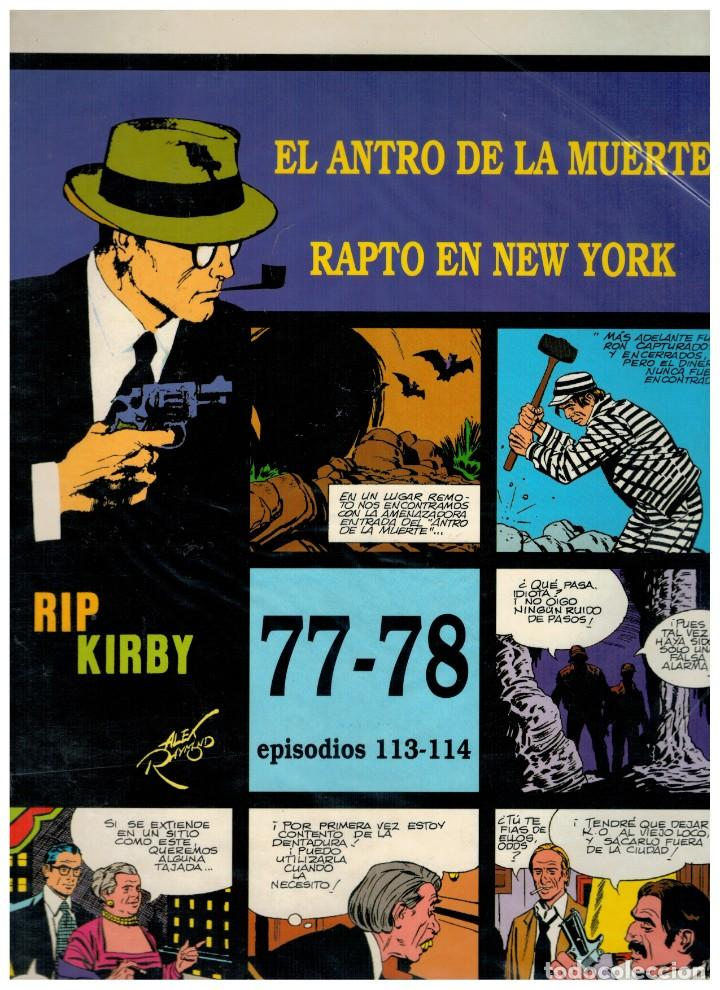 RIP KIRBY. EPISODIOS 113-114 - EUROCLUB MAGERIT - NUEVO. ENFUNDADO. (Tebeos y Comics - Magerit - Rip Kirby)
