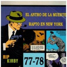 Cómics: RIP KIRBY. EPISODIOS 113-114 - EUROCLUB MAGERIT - NUEVO. ENFUNDADO.. Lote 231899145