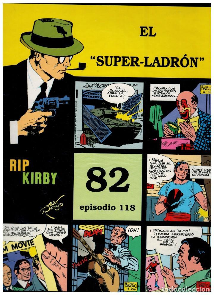 RIP KIRBY. EPISODIO 118 - EUROCLUB MAGERIT - NUEVO. ENFUNDADO. (Tebeos y Comics - Magerit - Rip Kirby)