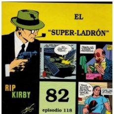 Cómics: RIP KIRBY. EPISODIO 118 - EUROCLUB MAGERIT - NUEVO. ENFUNDADO.. Lote 231900050