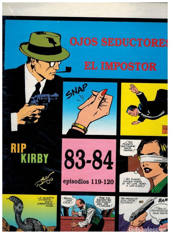 RIP KIRBY. EPISODIOS 119-120 - EUROCLUB MAGERIT - NUEVO. ENFUNDADO. (Tebeos y Comics - Magerit - Rip Kirby)
