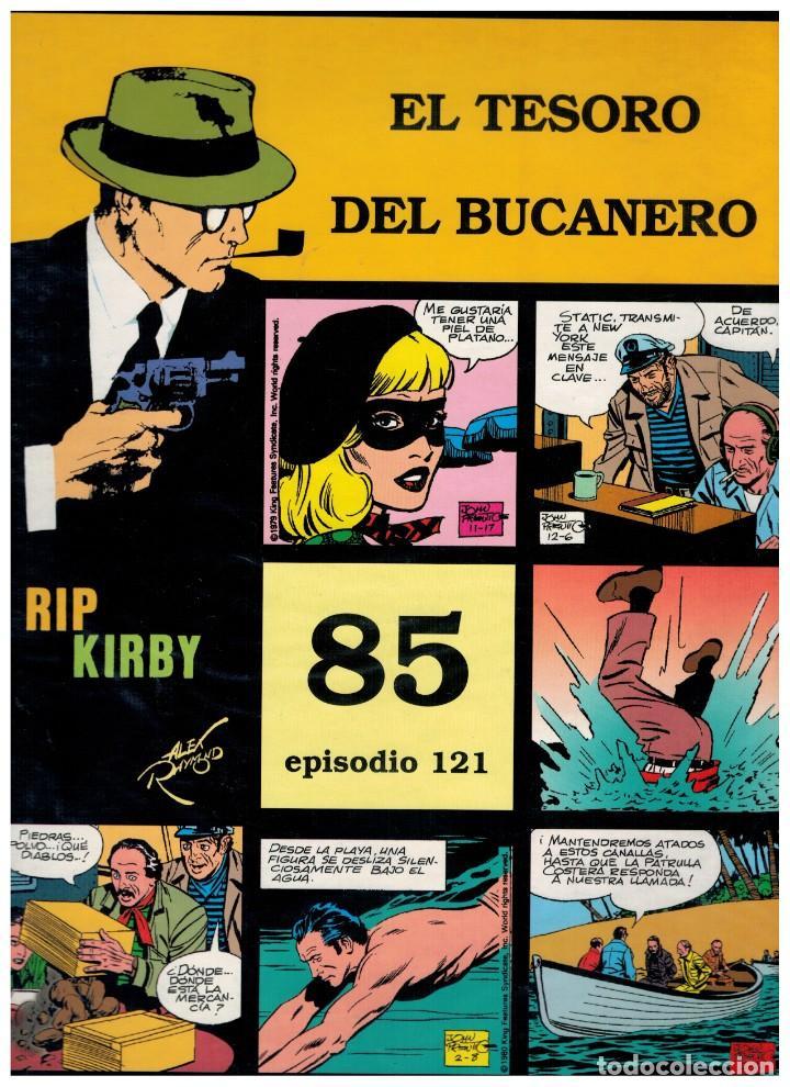 RIP KIRBY. EPISODIO 121 - EUROCLUB MAGERIT - NUEVO. ENFUNDADO. (Tebeos y Comics - Magerit - Rip Kirby)
