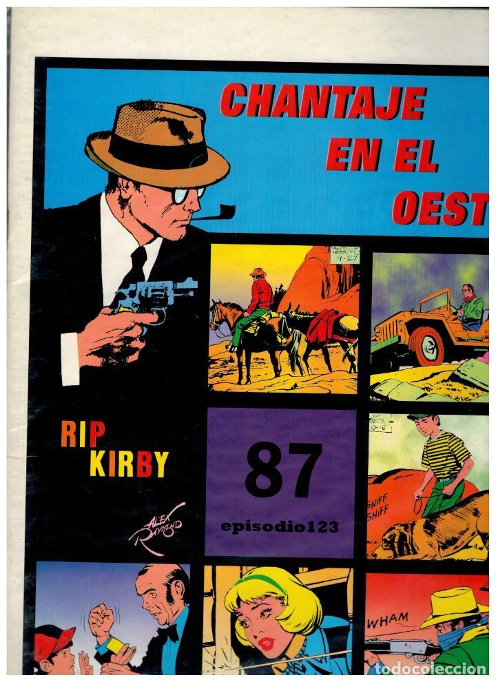 RIP KIRBY. EPISODIO 123 - EUROCLUB MAGERIT - NUEVO. ENFUNDADO. (Tebeos y Comics - Magerit - Rip Kirby)