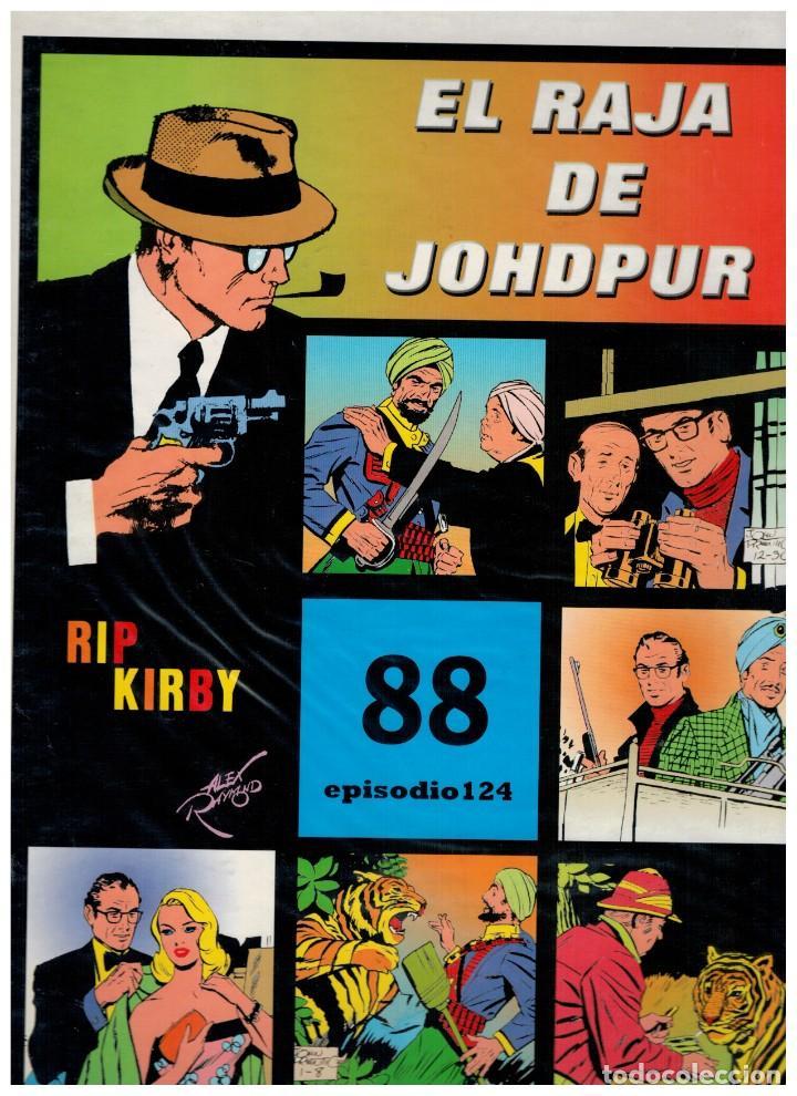 RIP KIRBY. EPISODIO 124 - EUROCLUB MAGERIT - NUEVO. ENFUNDADO. (Tebeos y Comics - Magerit - Rip Kirby)