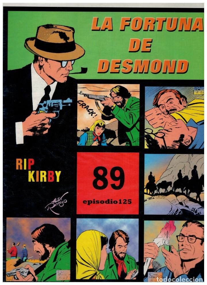RIP KIRBY. EPISODIO 125 - EUROCLUB MAGERIT - NUEVO. ENFUNDADO. (Tebeos y Comics - Magerit - Rip Kirby)