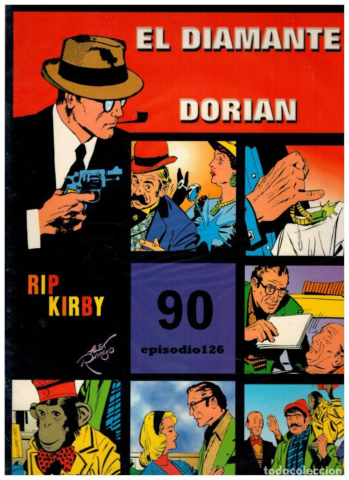 RIP KIRBY. EPISODIO 126 - EUROCLUB MAGERIT - NUEVO. ENFUNDADO. (Tebeos y Comics - Magerit - Rip Kirby)