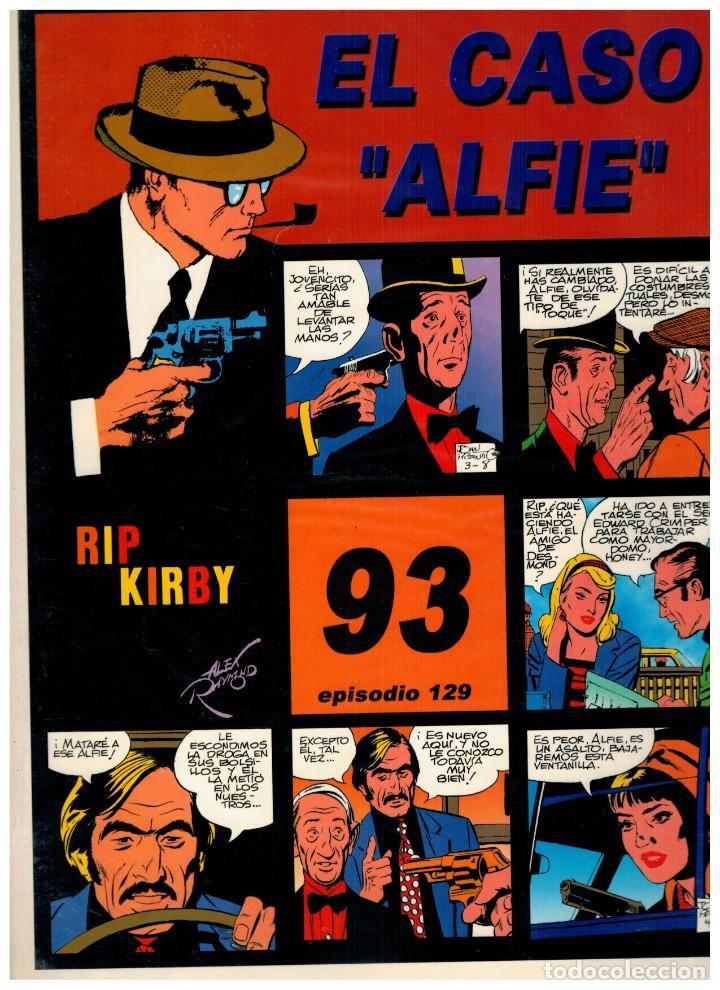 RIP KIRBY. EPISODIO 129 - EUROCLUB MAGERIT - NUEVO. ENFUNDADO. (Tebeos y Comics - Magerit - Rip Kirby)
