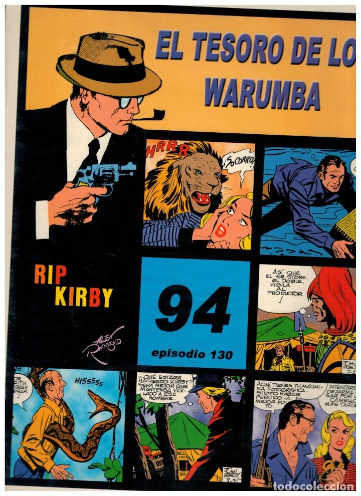 RIP KIRBY. EPISODIO 130 - EUROCLUB MAGERIT - NUEVO. ENFUNDADO. (Tebeos y Comics - Magerit - Rip Kirby)