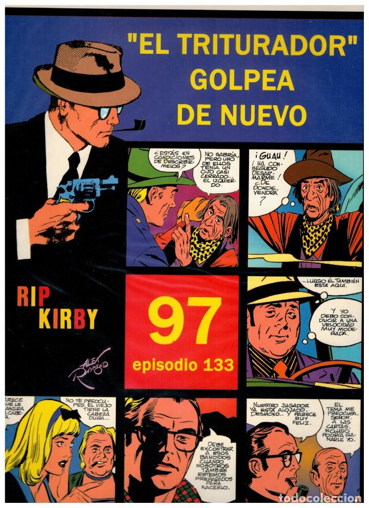 RIP KIRBY. EPISODIO 133 - EUROCLUB MAGERIT - NUEVO. ENFUNDADO. (Tebeos y Comics - Magerit - Rip Kirby)