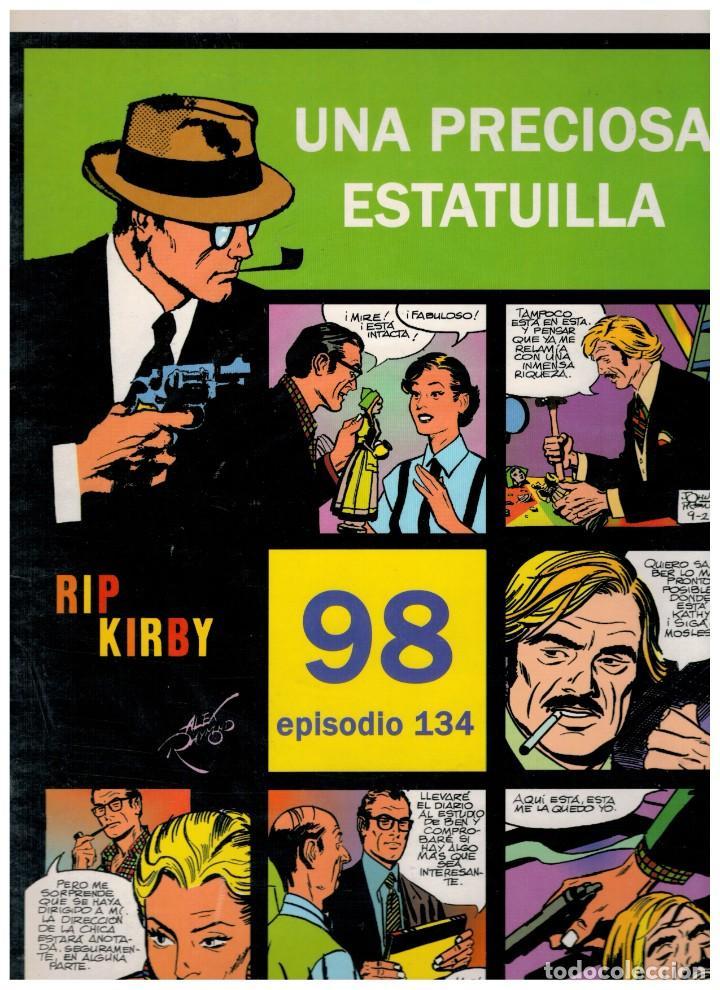 RIP KIRBY. EPISODIO 134 - EUROCLUB MAGERIT - NUEVO. ENFUNDADO. (Tebeos y Comics - Magerit - Rip Kirby)