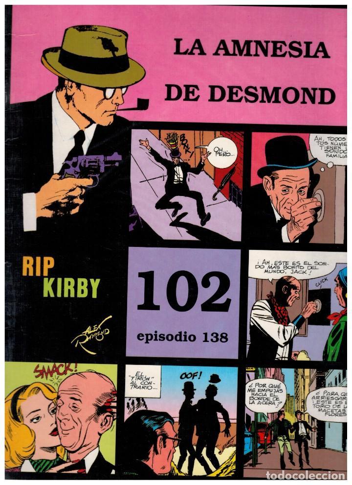 RIP KIRBY. EPISODIO 138 - EUROCLUB MAGERIT - NUEVO. ENFUNDADO. (Tebeos y Comics - Magerit - Rip Kirby)