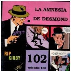Cómics: RIP KIRBY. EPISODIO 138 - EUROCLUB MAGERIT - NUEVO. ENFUNDADO.. Lote 231903700
