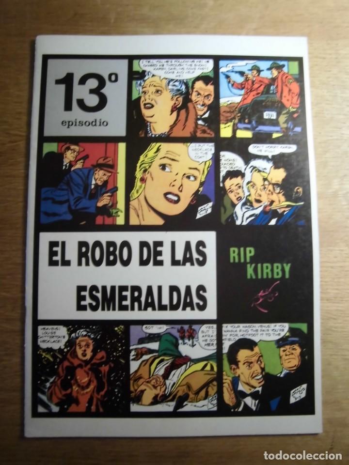RIP KIRBY 13º EPISODIO EL ROBO DE LAS ESMERALDAS EDITA EUROCLUB MAGERIT S.L. (Tebeos y Comics - Magerit - Rip Kirby)