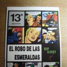 Cómics: RIP KIRBY 13º EPISODIO EL ROBO DE LAS ESMERALDAS EDITA EUROCLUB MAGERIT S.L.. Lote 232025320