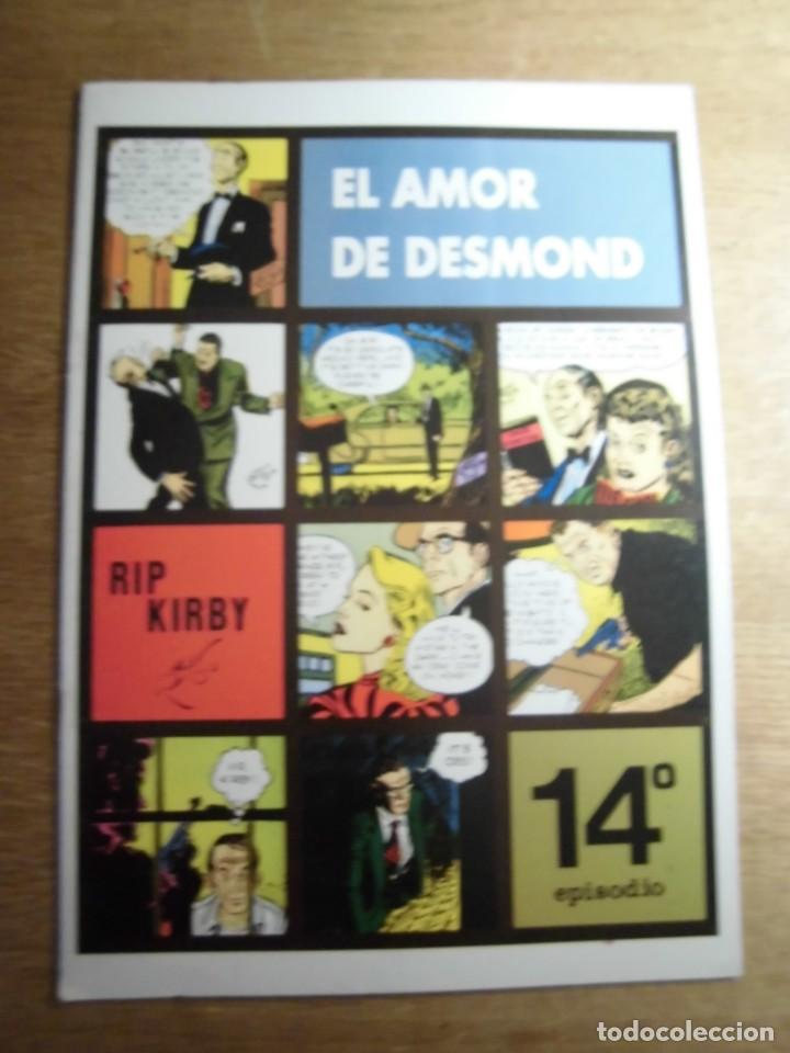 RIP KIRBY 14º EPISODIO EL AMOR DE DESMOND EDITA EUROCLUB MAGERIT S.L. (Tebeos y Comics - Magerit - Rip Kirby)
