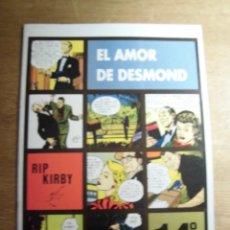 Cómics: RIP KIRBY 14º EPISODIO EL AMOR DE DESMOND EDITA EUROCLUB MAGERIT S.L.. Lote 232025540