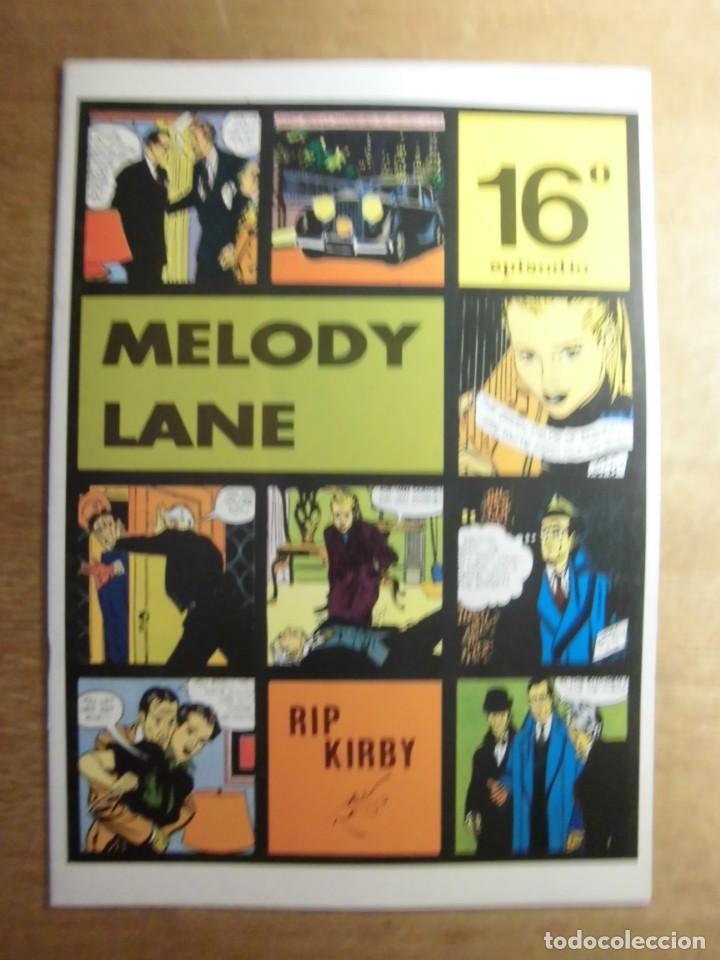 RIP KIRBY 16º EPISODIO MELODY LANE EDITA EUROCLUB MAGERIT S.L. (Tebeos y Comics - Magerit - Rip Kirby)