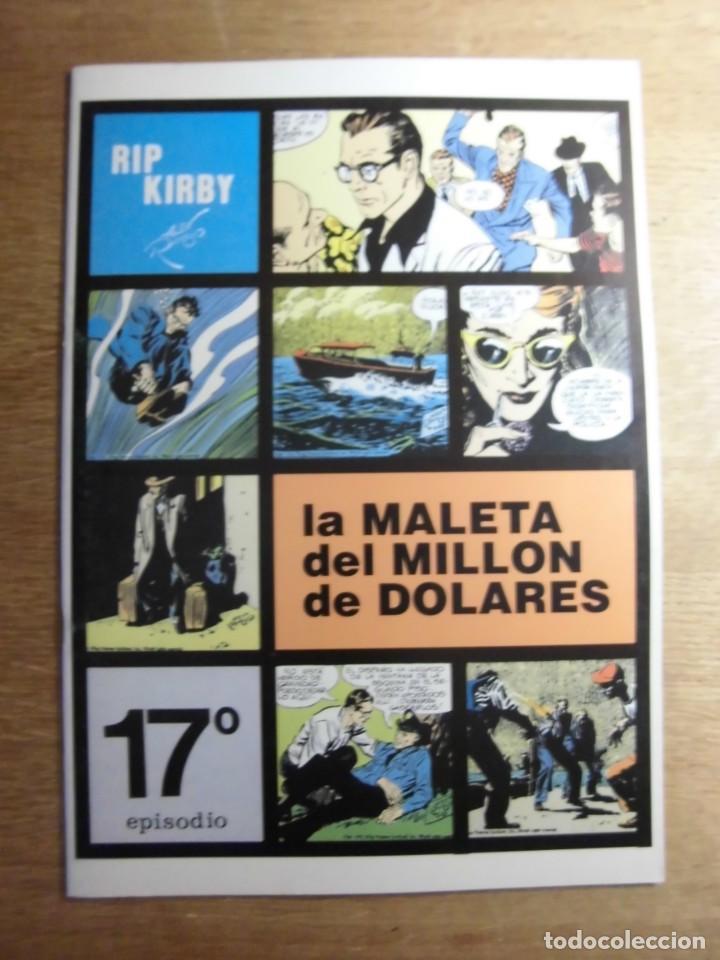 RIP KIRBY 17º EPISODIO LA MALETA DEL MILLÓN DE DÓLARES EDITA EUROCLUB MAGERIT S.L. (Tebeos y Comics - Magerit - Rip Kirby)