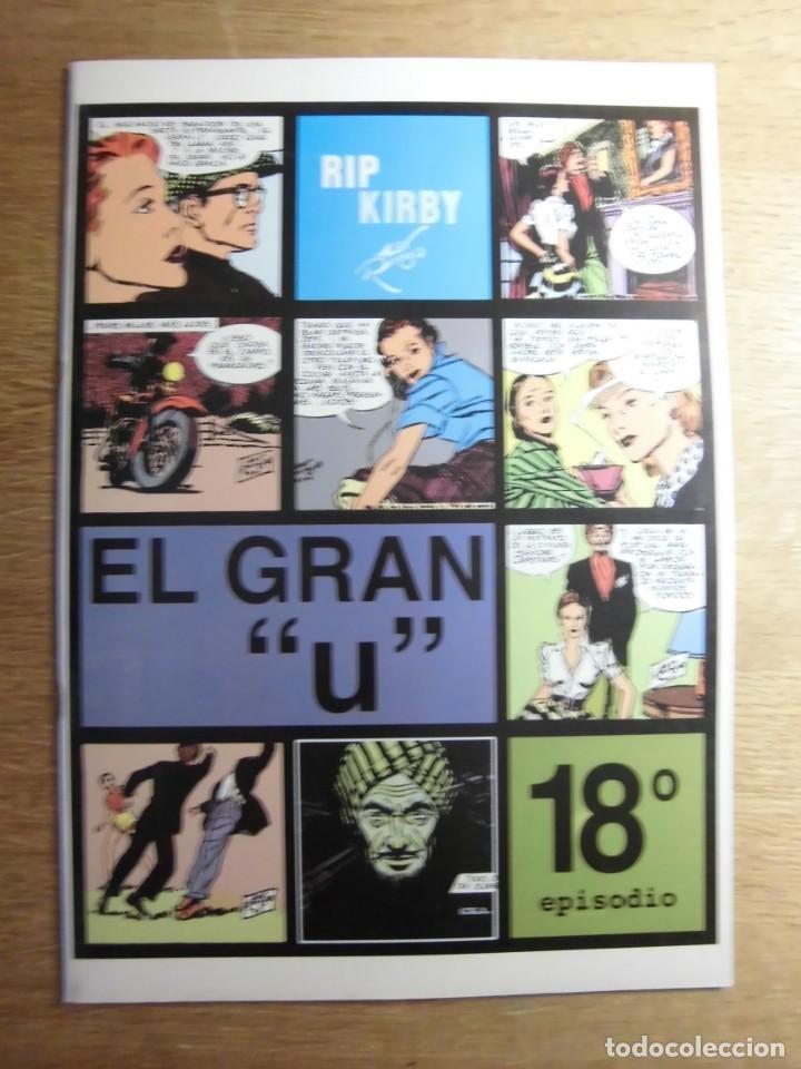 """RIP KIRBY 18º EPISODIO EL GRAN """"U"""" EDITA EUROCLUB MAGERIT S.L. (Tebeos y Comics - Magerit - Rip Kirby)"""