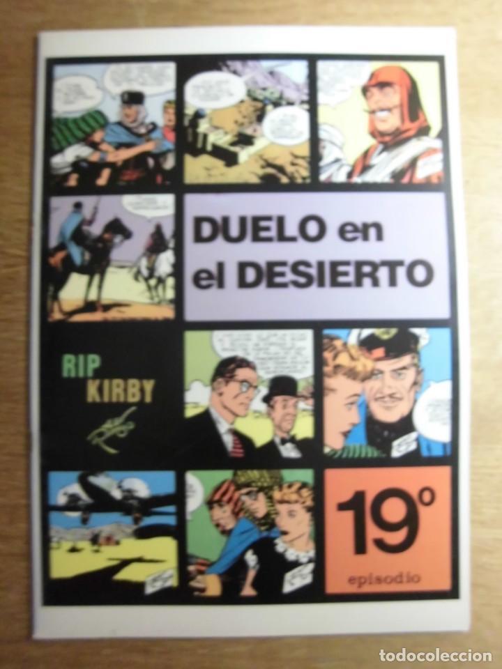 RIP KIRBY 19º EPISODIO DUELO EN EL DESIERTO EDITA EUROCLUB MAGERIT S.L. (Tebeos y Comics - Magerit - Rip Kirby)