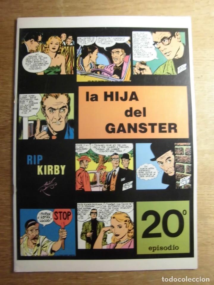 RIP KIRBY 20º EPISODIO LA HIJA DEL GANSTER EDITA EUROCLUB MAGERIT S.L. (Tebeos y Comics - Magerit - Rip Kirby)